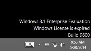 Windows Evaluation Expired
